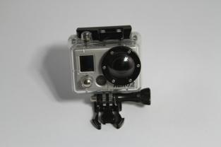 Go Pro w/ waterproof casing