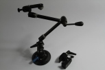 Manfrotto Magic Arm w/clamp & windshield suction cup